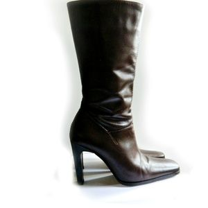 White Mountain Leather Boots